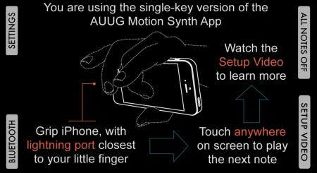 Key screen (Single-Key Mode)